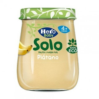 HERO BABY SOLO PLATANO 120 G
