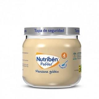 NUTRIBEN POTITO INTRODUCCION A LA MANZANA GOLDEN 120 G