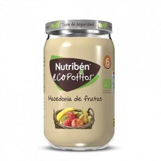 NUTRIBEN ECOPOTITOS MACEDONIA DE FRUTAS 235 G