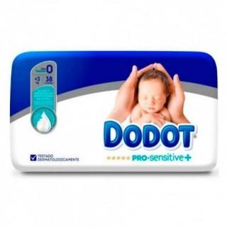 PAÑAL INFANTIL DODOT PRO SENSITIVE T- 0 MENOS 3 KG 38 U