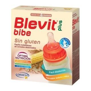 BLEVIT PLUS BIBE SIN GLUTEN PARA BIBERON 2 SOBRES X 300 G