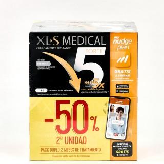 XLS MEDICAL FORTE X5 2 UNIDADES 180 CAPSULAS PACK AHORRO