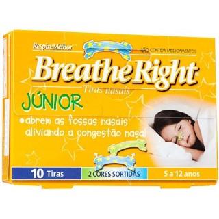 BREATHE RIGHT TIRA NASAL RESPIRA MEJOR NIÑOS 10