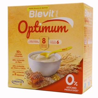 BLEVIT PLUS OPTIMUM 8 CEREALES MIEL 1 ENVASE 400 G