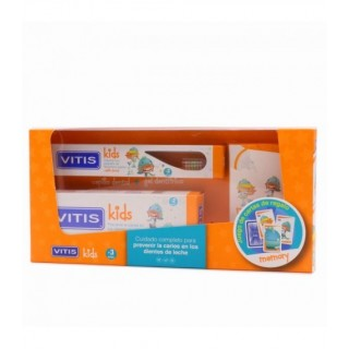 VITIS KIDS GEL DENTIFRICO + CEPILLO + GADGET 50 ML